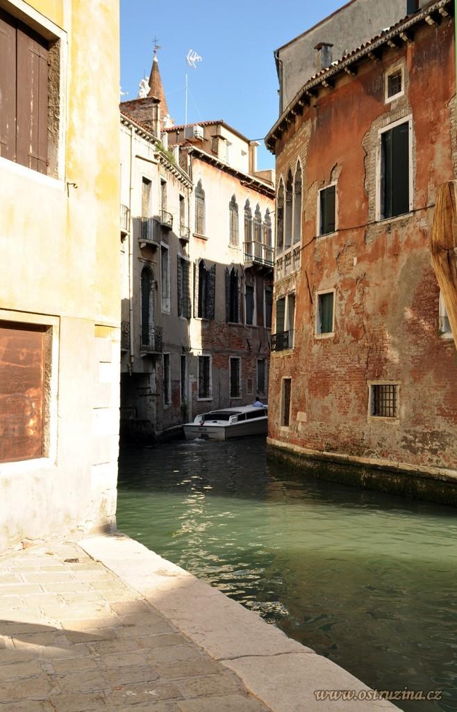 Benátky uličky