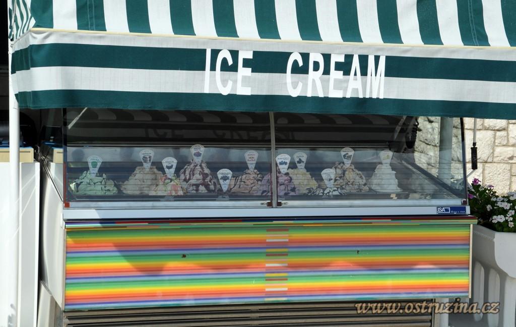 Igrane zmrzlina