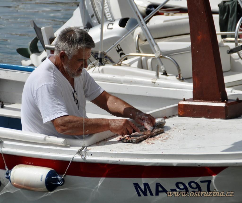 Igrane Živogošće rybář